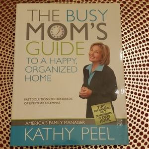 book Accents - THE BUSY MOM'S GUIDE to a happy organized home